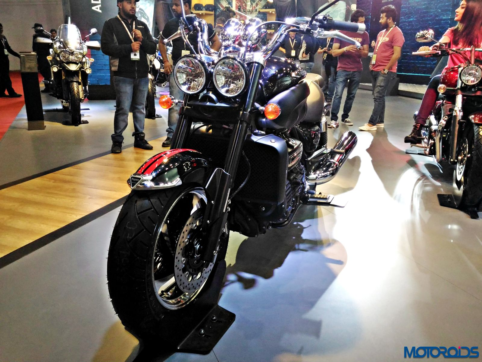 Triumph Motorcycles Stand - Auto Expo 2016 (187)