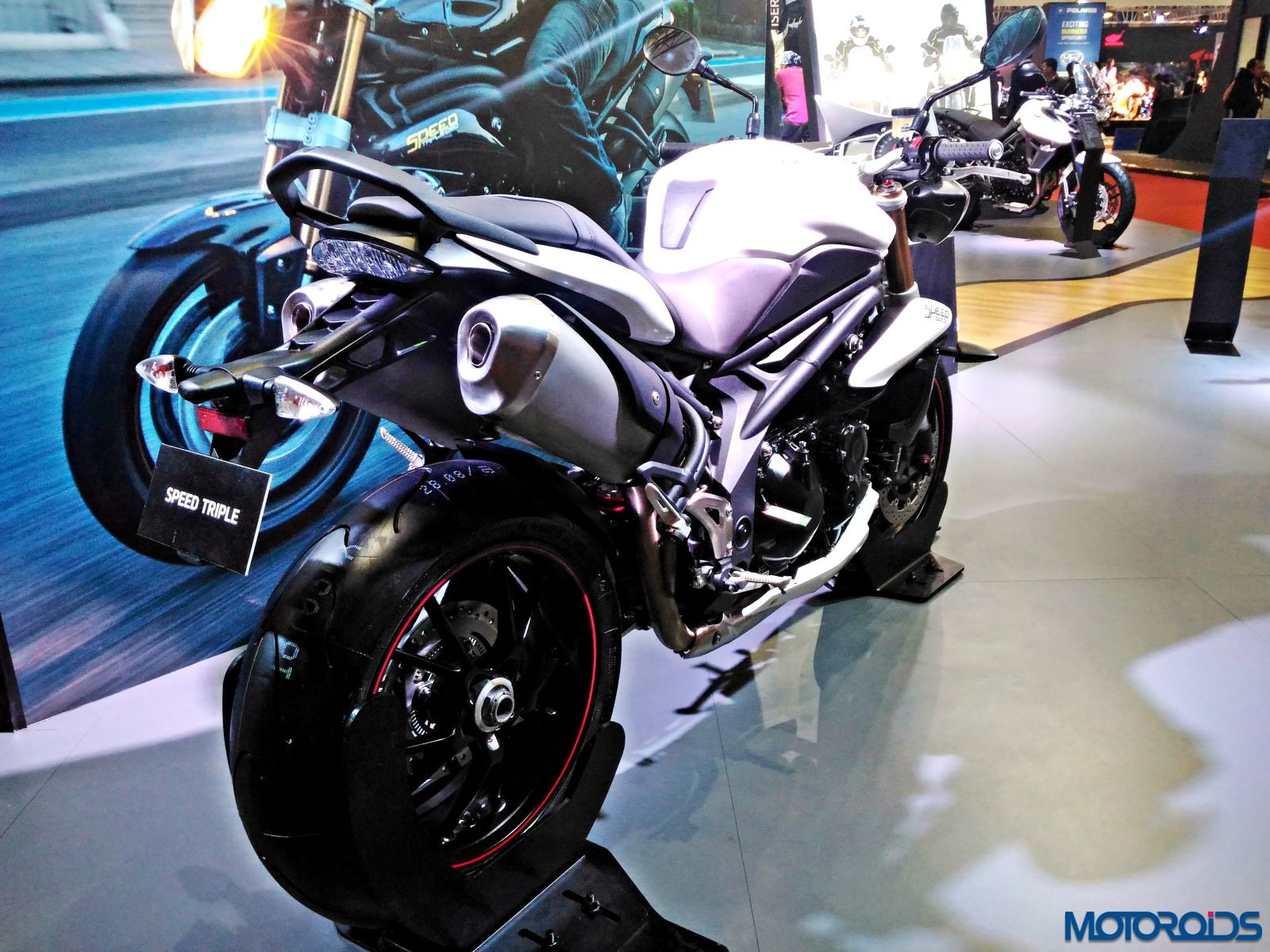 Triumph Motorcycles Stand - Auto Expo 2016 (36)