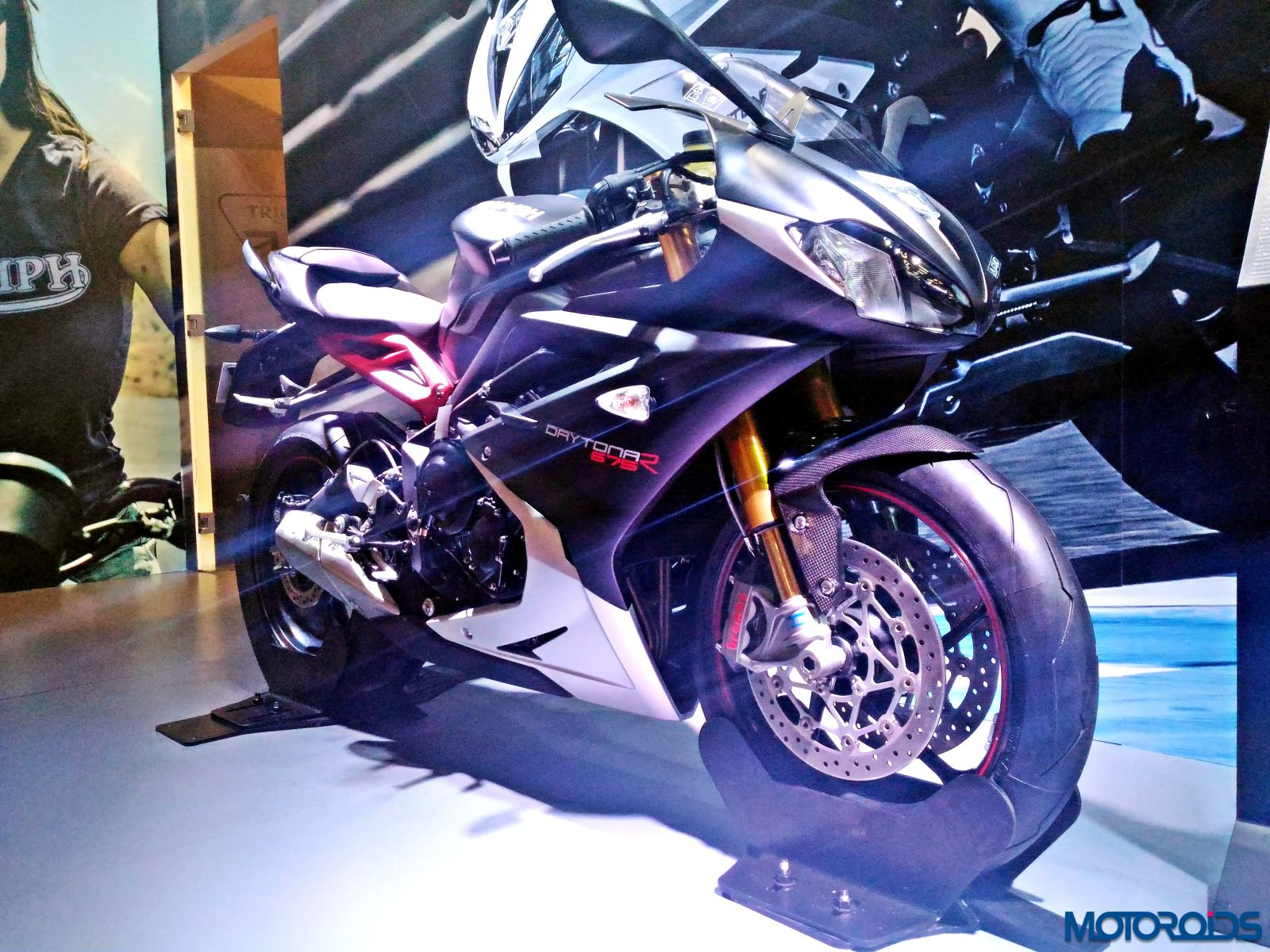 Triumph Motorcycles Stand - Auto Expo 2016 (7)