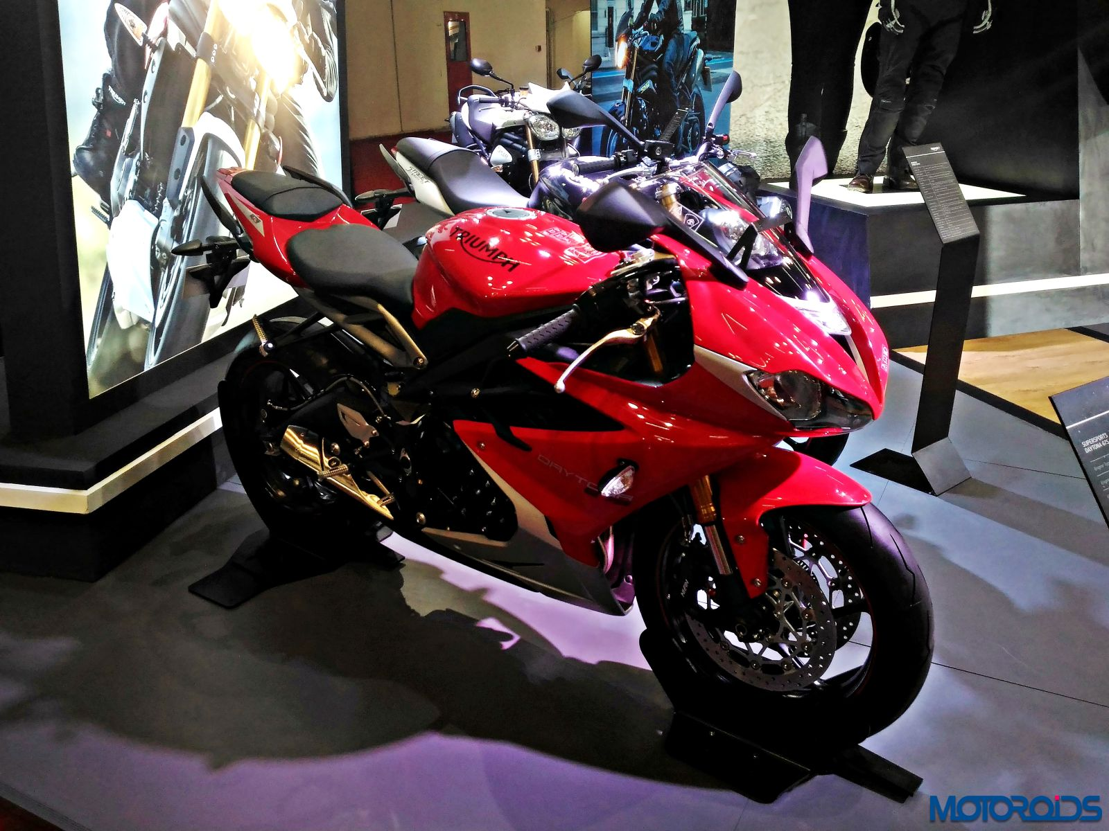 Triumph Motorcycles Stand Auto Expo 2016 83