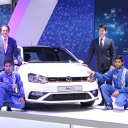 Volkswagen Polo GTi 180x180 Auto Expo 2016: Volkswagen Polo GTi unveiled; dubbed as Indias hottest hatch