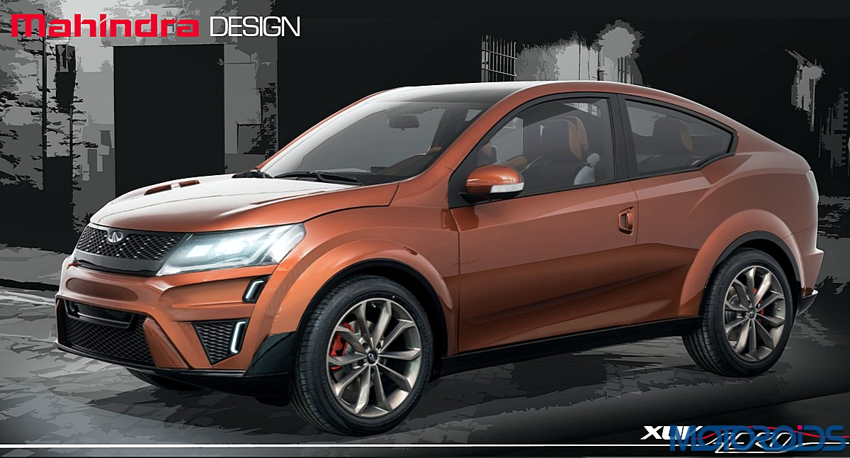 mahindra xuv aero concept to go all electric motoroids