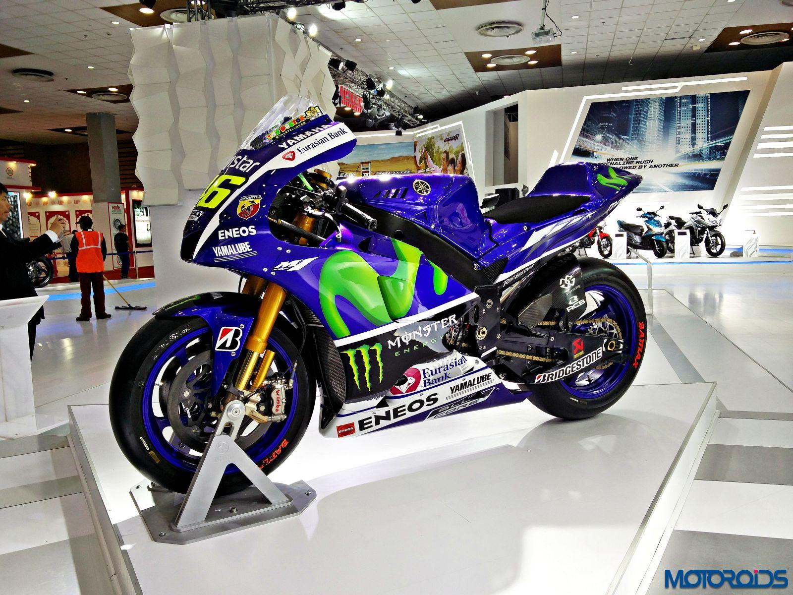 Yamaha M1 - MotoGP Motorcycle - Auto Expo 2016 (10)