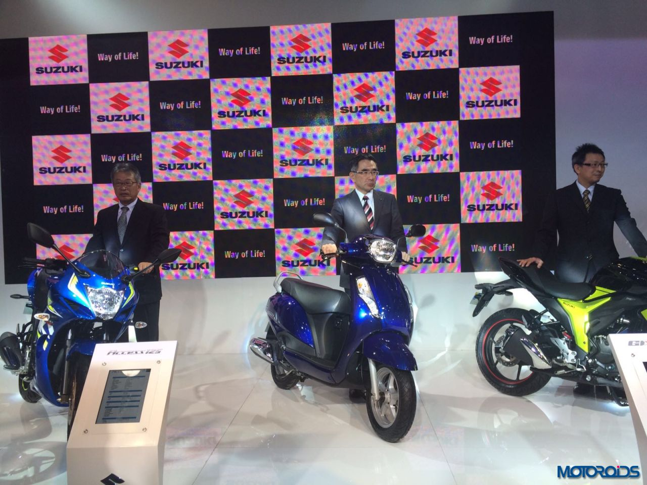 new Suzuki Access 125 Auto Expo 2016 (3)