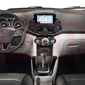 2017 Ford EcoSport face-lift interior