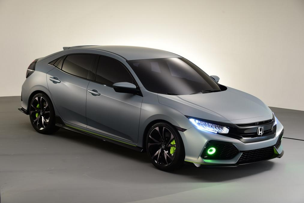 2016 geneva motor show 2017 honda civic hatchback for Honda civic wagon 2017