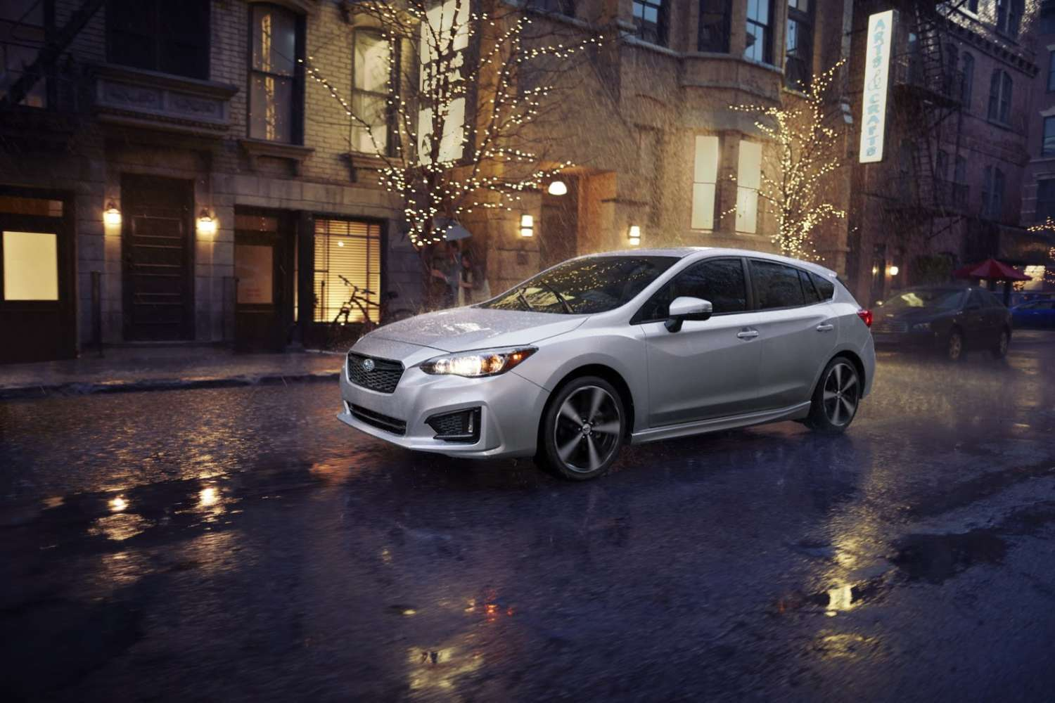 all new 2017 subaru impreza sedan and hatchback unveiled motoroids. Black Bedroom Furniture Sets. Home Design Ideas