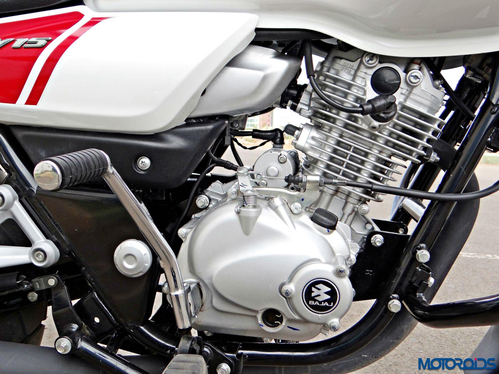 Bajaj V15 - Review - Details - Engine (3)