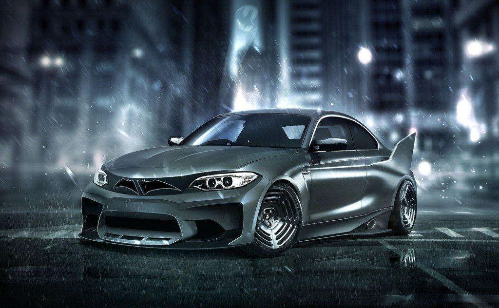 Batman BMW M2 Superhero