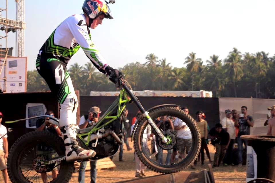 Dougie Lampkin India Bike Week IBW 2016 (1)