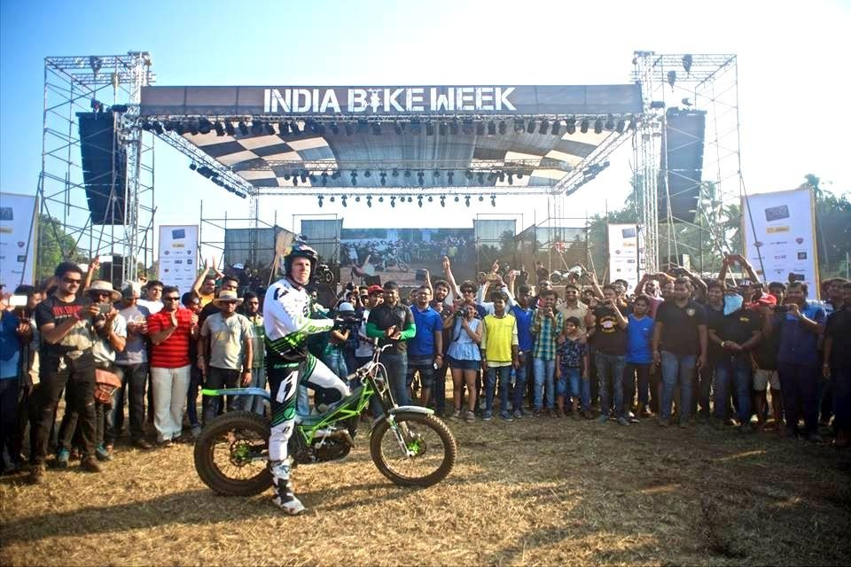 Dougie Lampkin India Bike Week IBW 2016 (2)