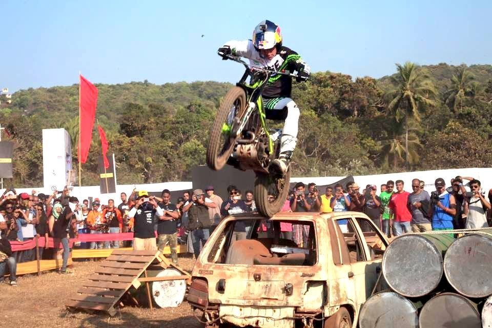 Dougie Lampkin India Bike Week IBW 2016 (7)