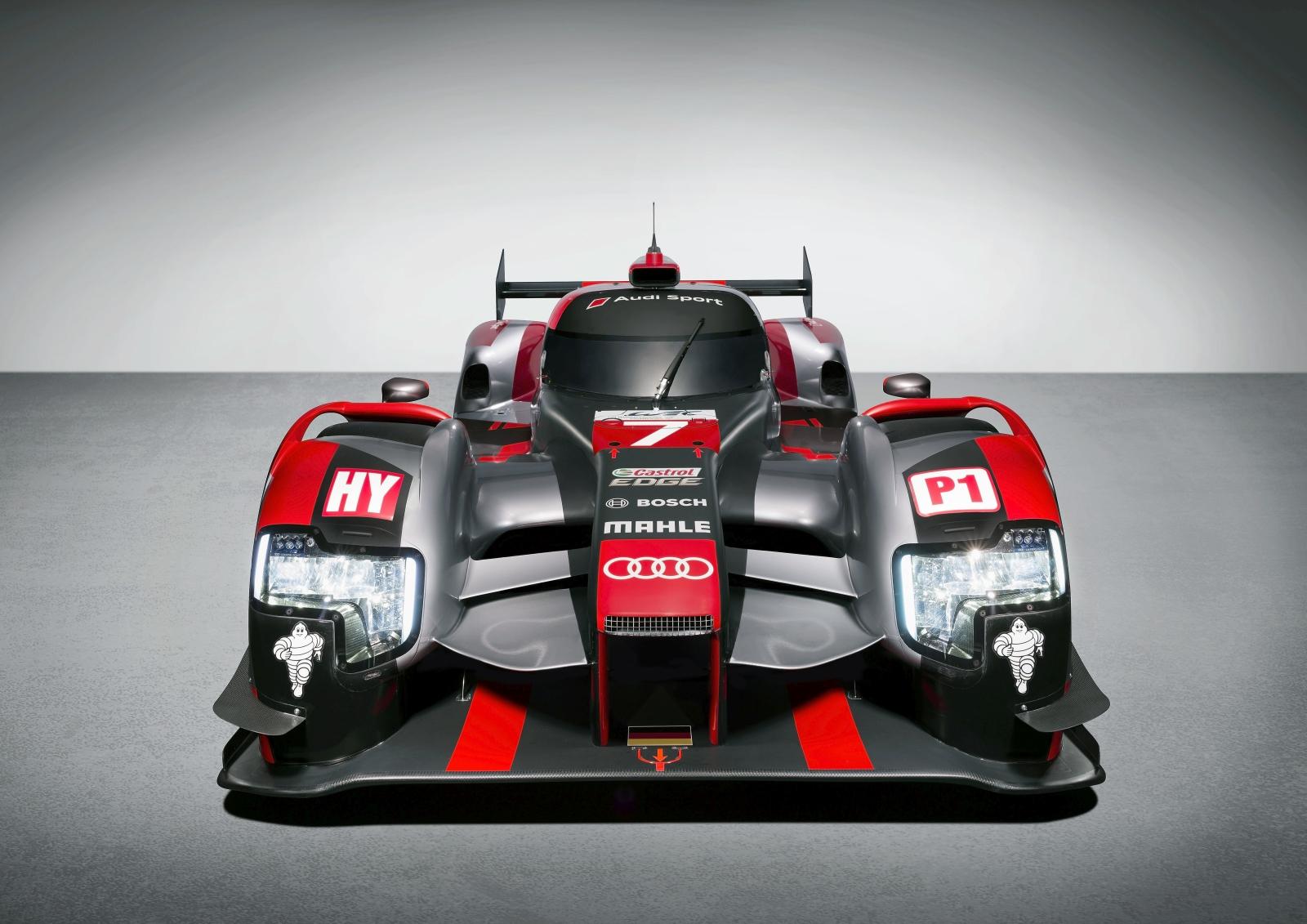 2016 Audi R18 Le Mans Prototype Race Car Unveiled Motoroids