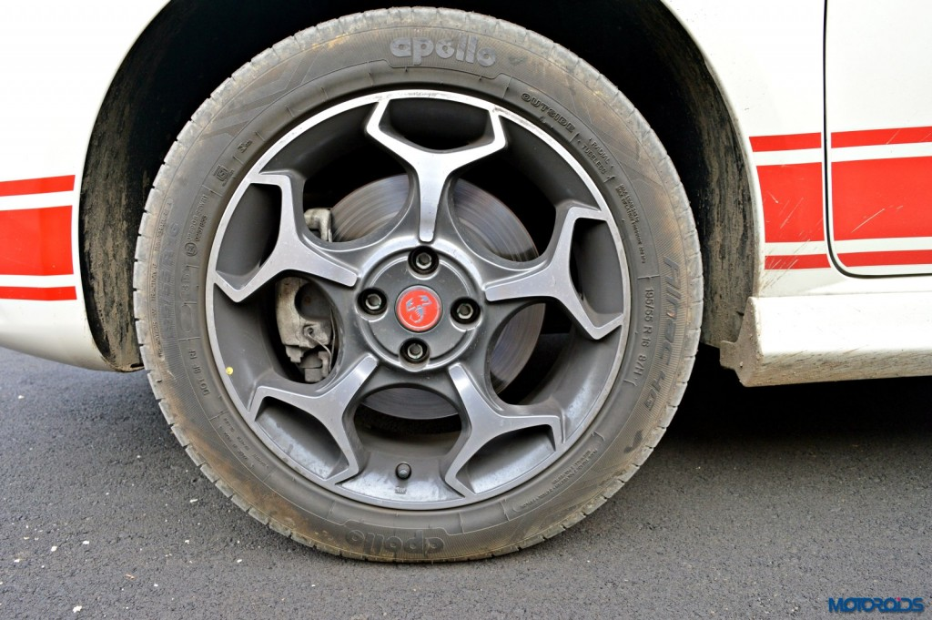 Fiat Punto Abarth Scorpion alloy wheels(17)