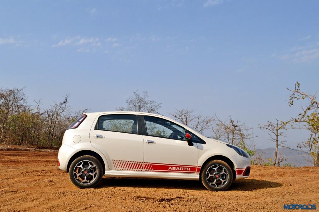 Fiat Punto Abarth Side profile (1)