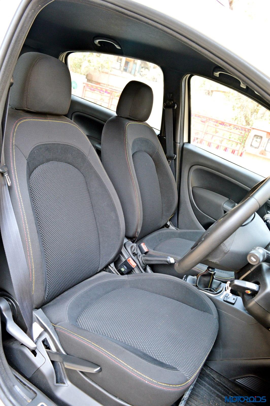Fiat Punto Abarth Front Seats 54