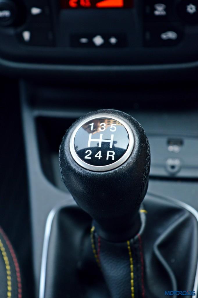Fiat Punto Abarth gear shifter(49)