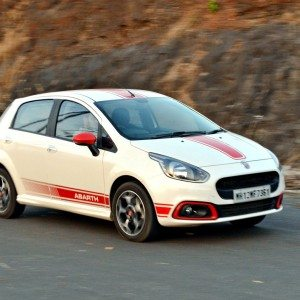 Of lust and a lascivious dame: A steamy night with the Punto Abarth