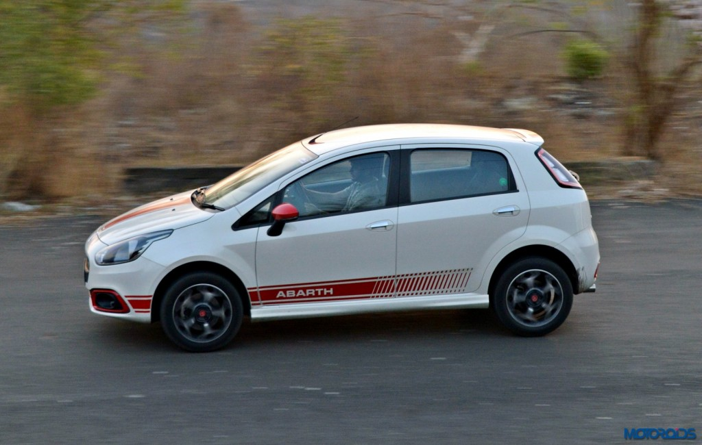 Fiat Punto Abarth in motion(41)