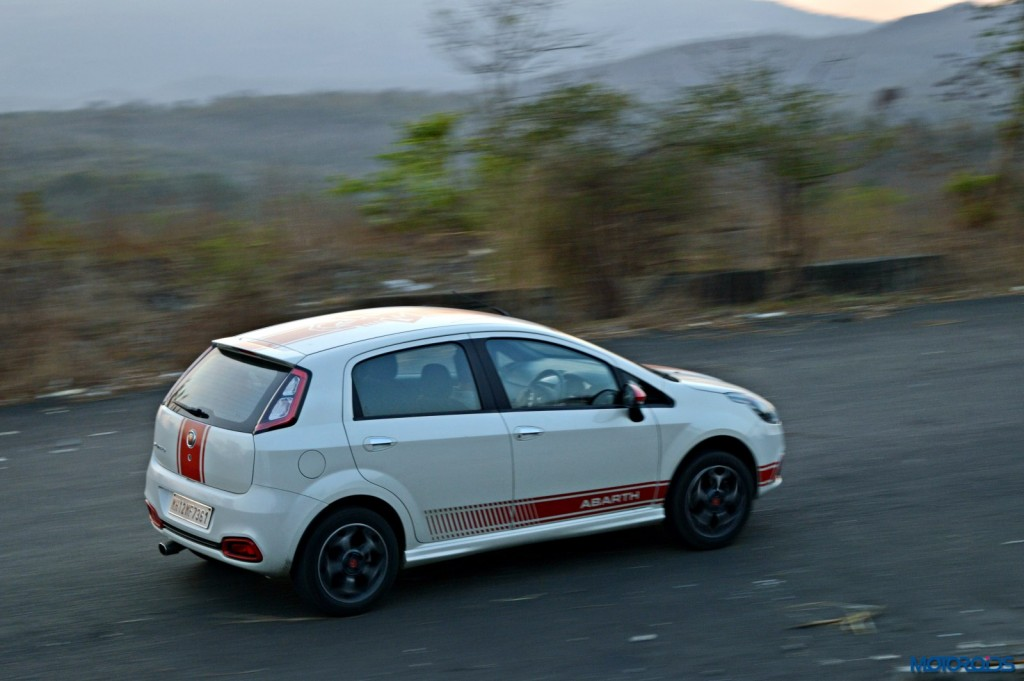 Fiat Punto Abarth in motion(44)