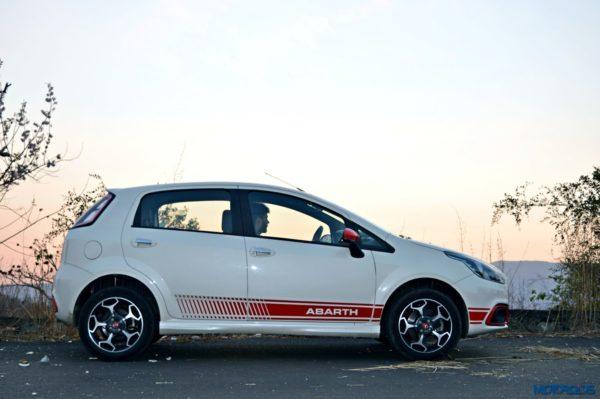 Fiat Punto Abarth side profile(36)