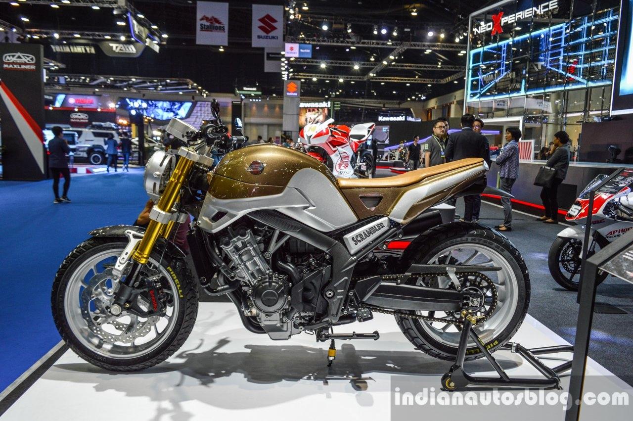 2016 bangkok motor show honda cb650 scramblerized motoroids. Black Bedroom Furniture Sets. Home Design Ideas