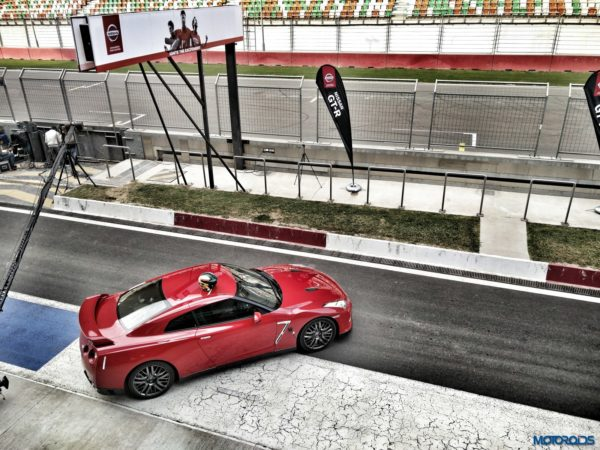 Nissan GT R Buddh International Circuit