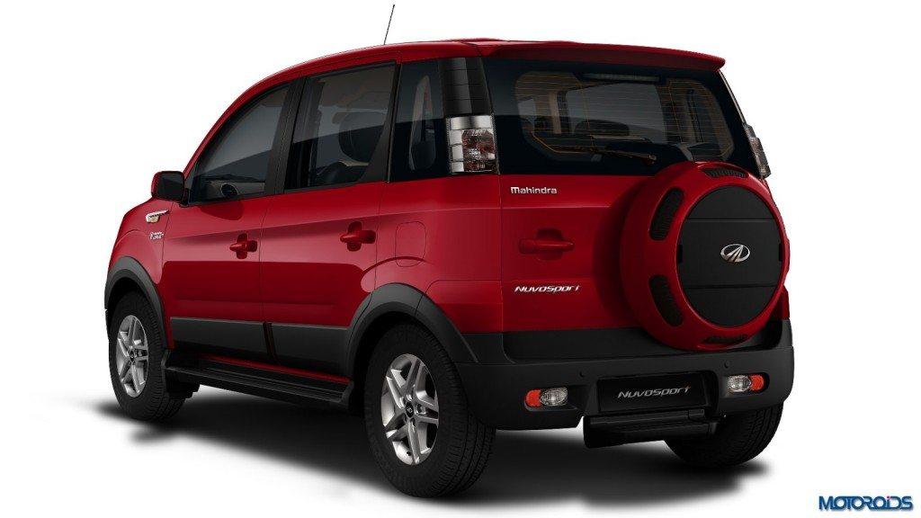 Mahindra Nuvosport SUV Rear (1)