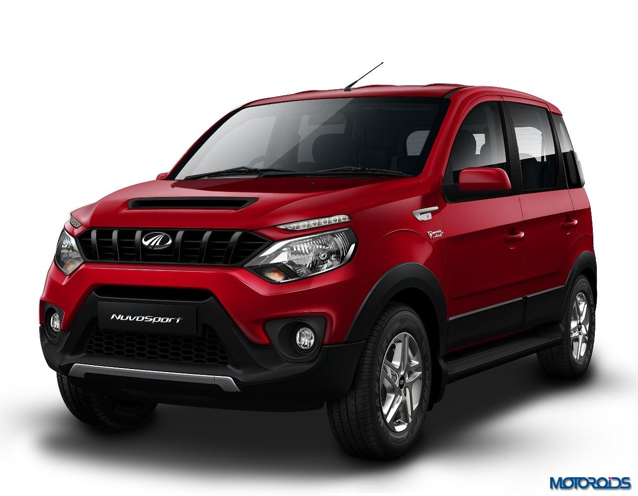 Mahindra Nuvosport SUV front
