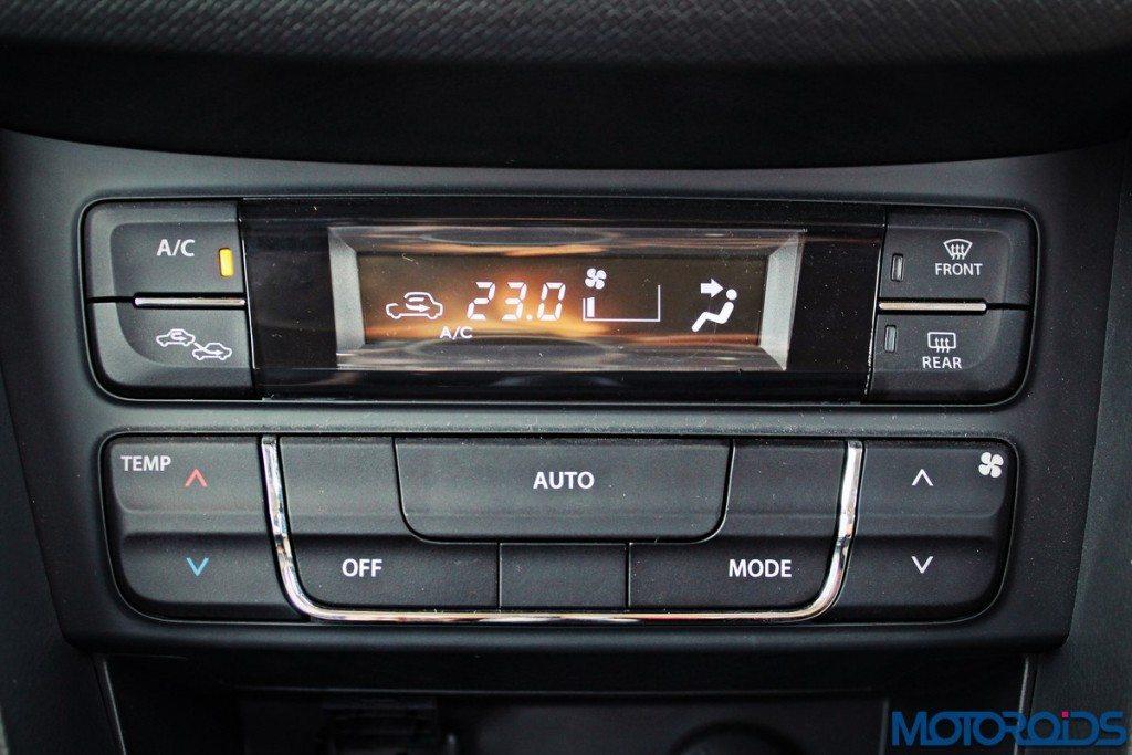 Maruti Suzuki Vitara Brezza climate control