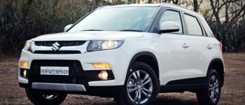 Maruti Suzuki Vitara Brezza white 5