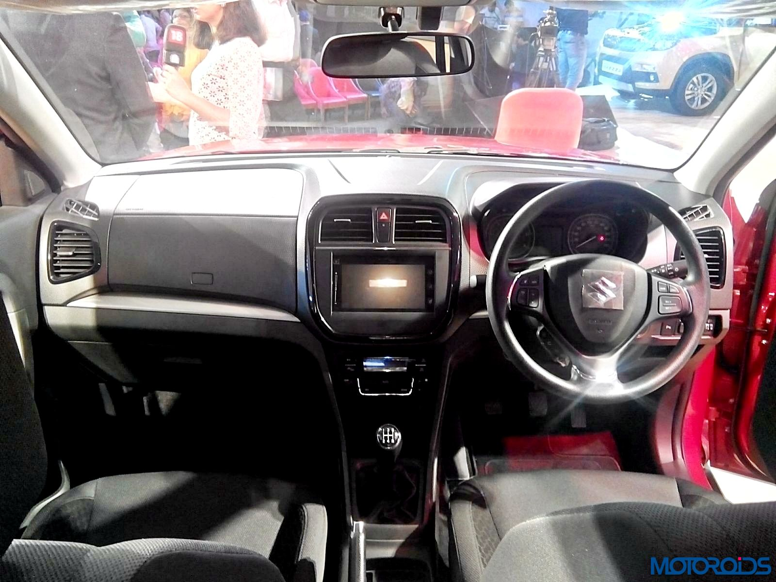 maruti vitara brezza india launch details images and prices live from the event motoroids. Black Bedroom Furniture Sets. Home Design Ideas