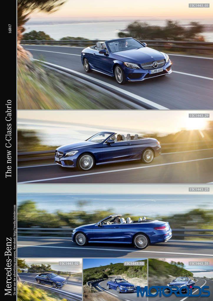 Mercedes benz c class cabriolet debuts at the 2016 geneva for Mercedes benz wifi hotspot