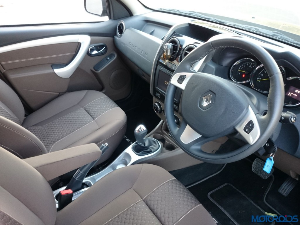 New 2016 Renault Duster cabin view (71)