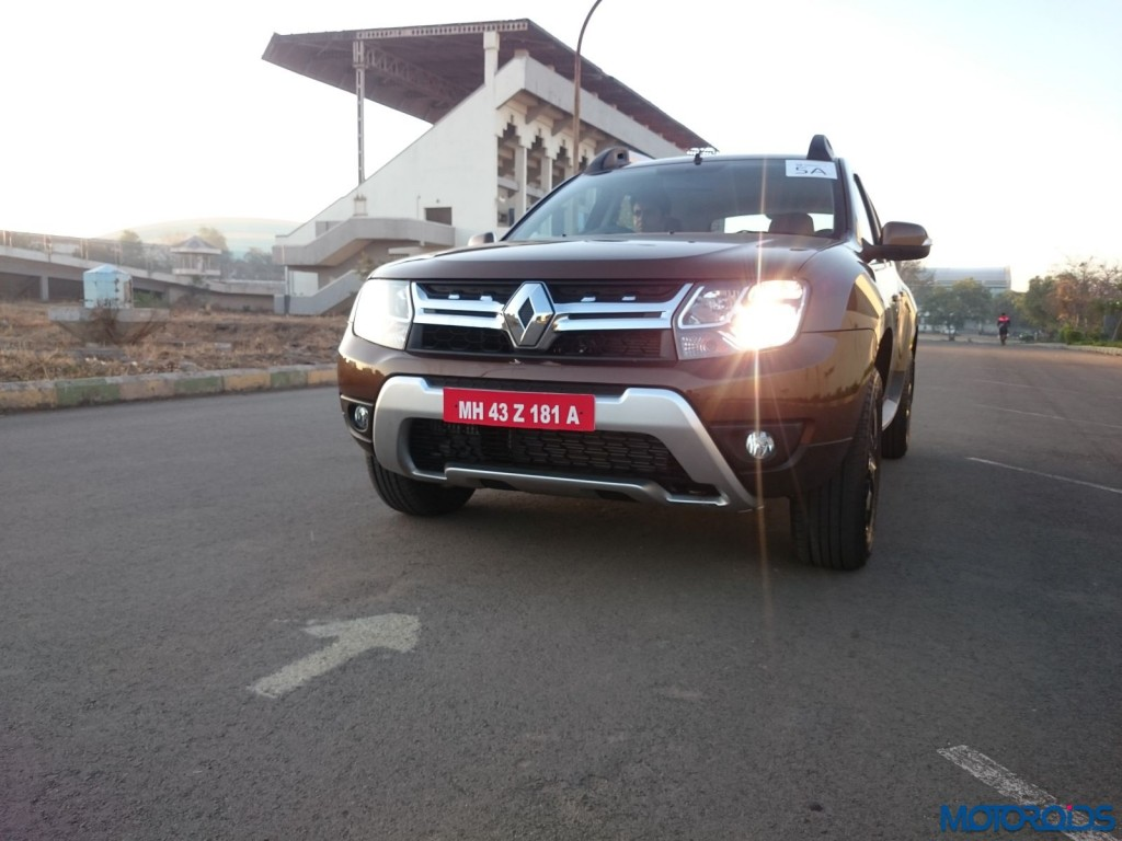 New 2016 Renault Duster front fascia (33)