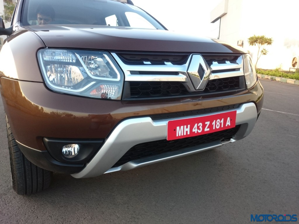 New 2016 Renault Duster front fascia(11)