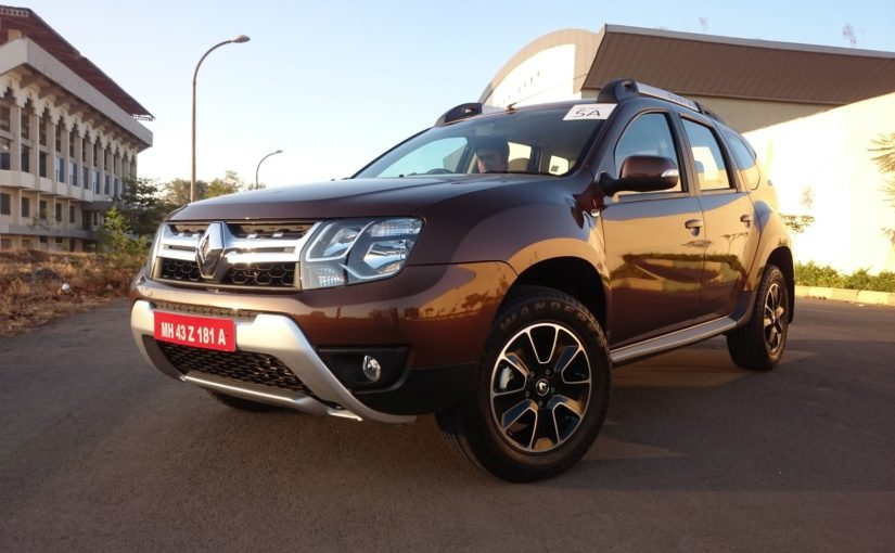 renault duster petrol cvt launch reportedly scheduled for may 2017 motoroids. Black Bedroom Furniture Sets. Home Design Ideas