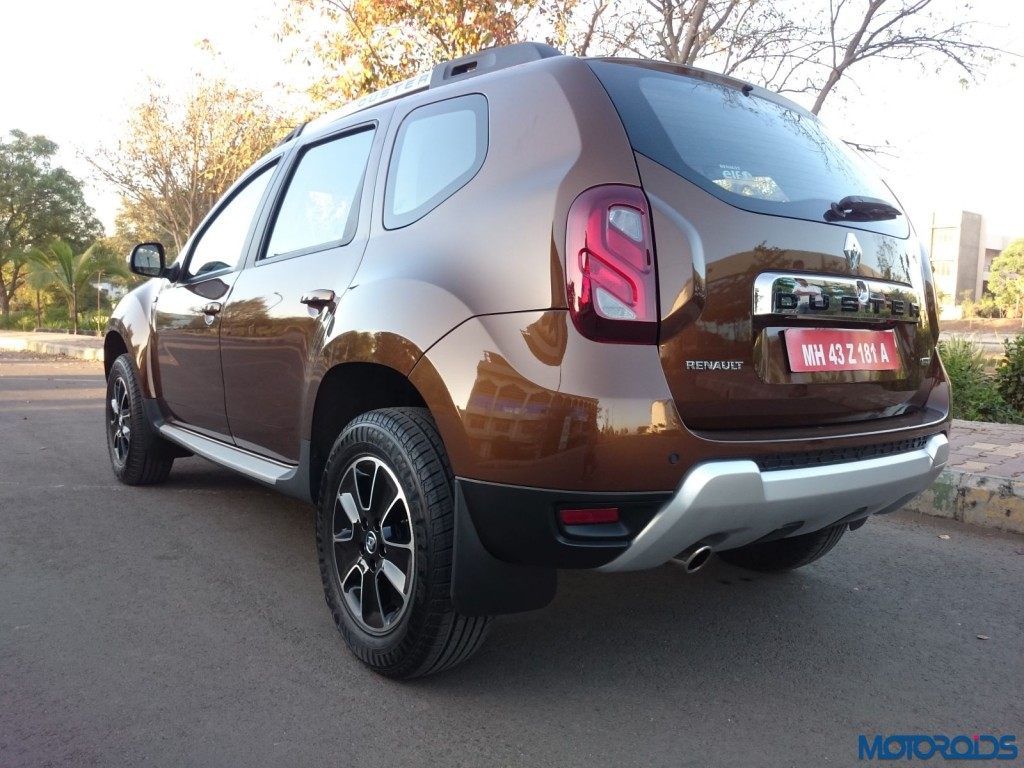 New 2016 Renault Duster rear left three quarters (62)
