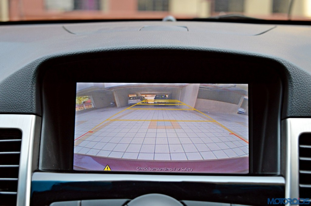 New Chevrolet Cruze Rear View Camera