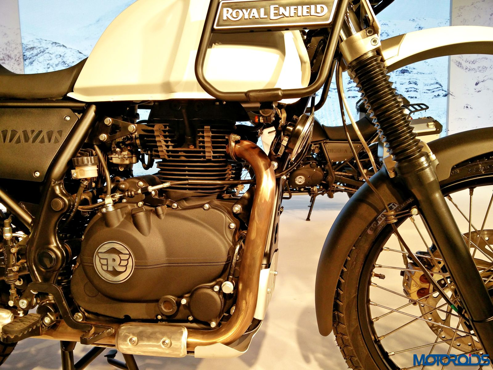 Pin royal enfield classic 350 ash colour screen capture on pinterest - Royal Enfield Will Launch Himalayan Adventure Motorcycle