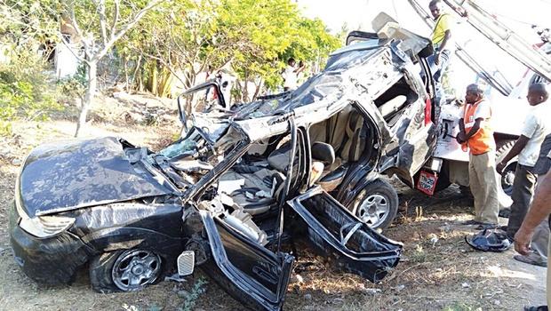 Safari SUV mishap 1