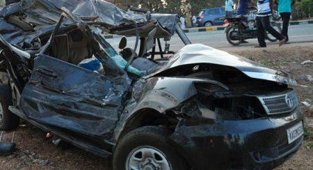 Safari SUV mishap
