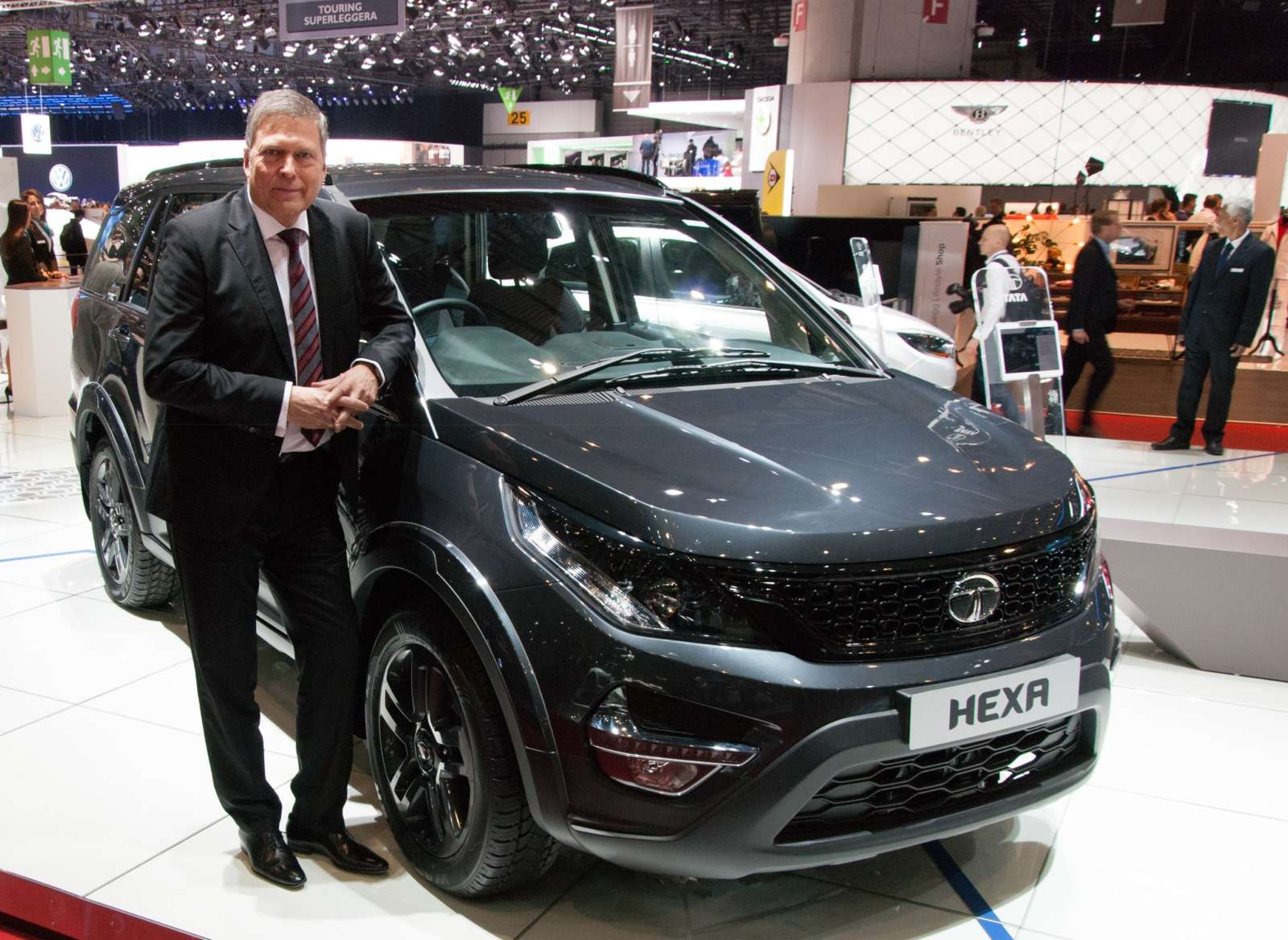 Geneva 2016 Tata Showcases Hexa Tuff Kite 5 And A Personalized