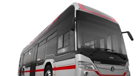 Tata hybrid bus Starbus for MMRDA