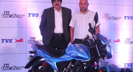 New TVS Victor Launched in Pune