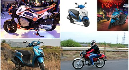 Top 5 funky two wheeler