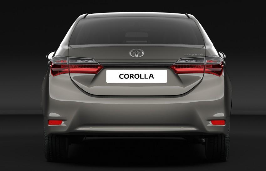 Toyota Corolla Altis facelift (2)