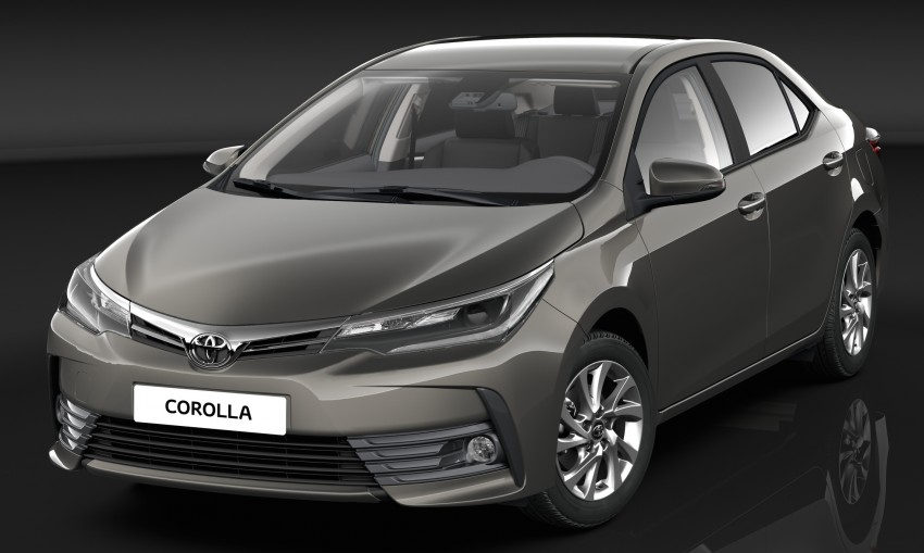 Toyota Corolla Altis facelift (3)