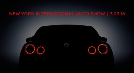 new 2016 Nissan GT-R teaser