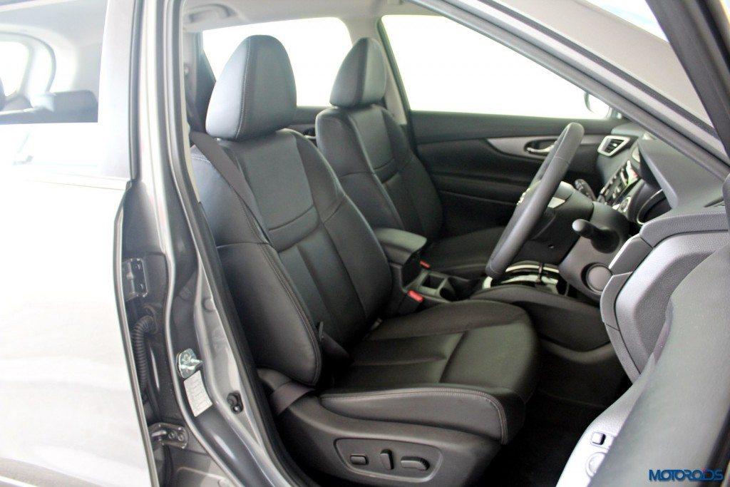 new 2016 Nissan X-Trail Hybrid India seats (1)
